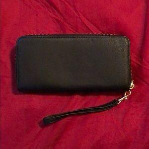 Target Black Wallet Wristlet